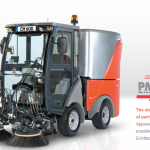 Road sweeper for hire in Cornwall